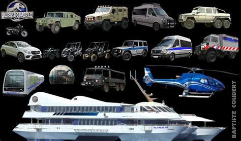 jurassic world vehicles badass vehicles of jurassic world