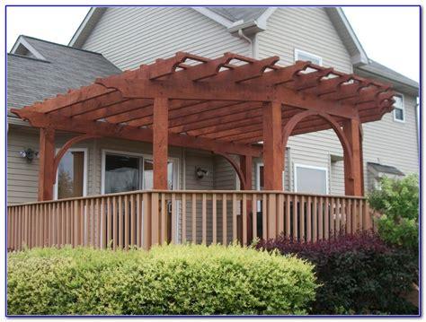building a covered pergola covered pergola on deck decks home decorating ideas aa234gwwbr