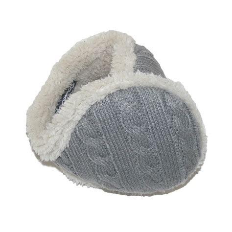 knit ear warmer womens cable knit ear warmers by 180s beltoutlet