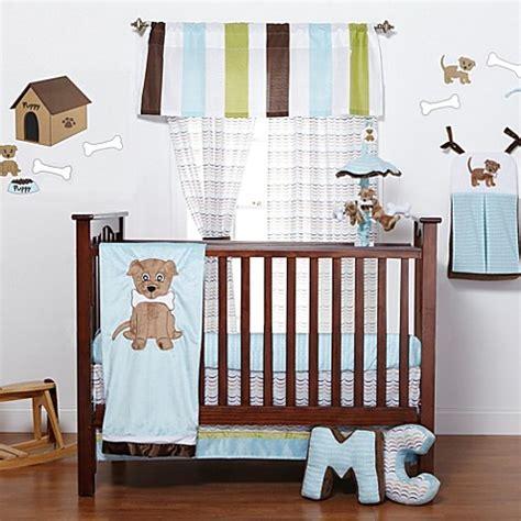 puppy crib bedding one grace place puppy pal 3 piece crib bedding set bed