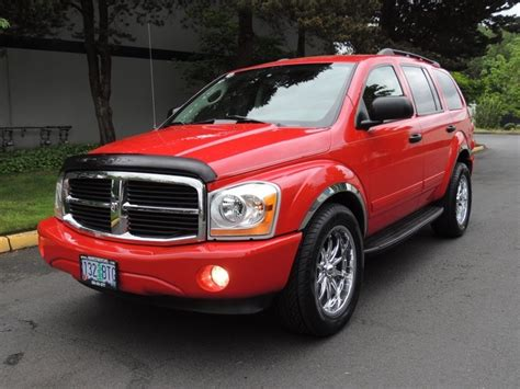 2004 dodge durango wheels 2004 dodge durango slt awd 3rd seat 20inch wheels
