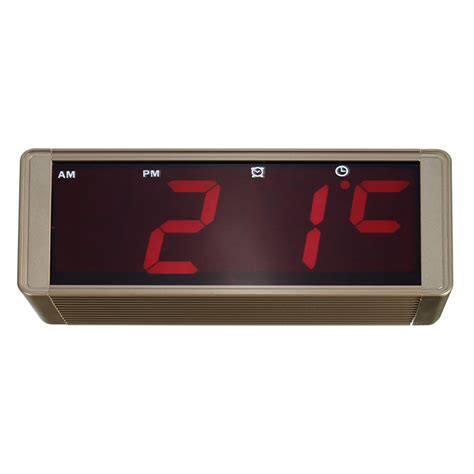 High Quality Led Alarm Clock by High Quality Ultra Large Display Led Digital Wall Clock