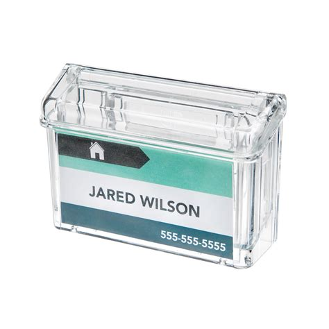 Outdoor Business Card Holder grab a card 174 outdoor business card holder deflecto llc