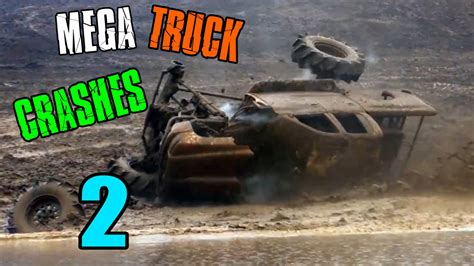 truck crashing mud trucks crashing mud truck carnage you need