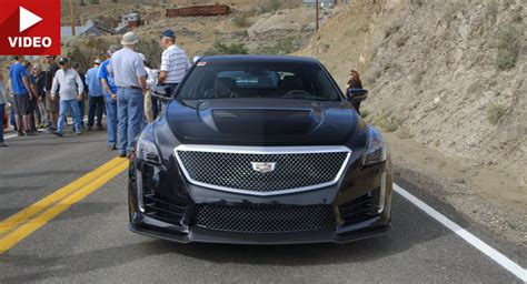 cadillac news road track new cars and 2015 2016 car all new cadillac cts v turns out to be a beast on road or