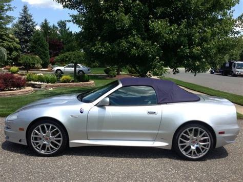 maserati 4 door convertible sell used 2005 maserati spyder cambiocorsa convertible 2
