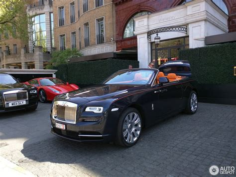 roll royce dawn black rolls royce dawn 8 may 2016 autogespot
