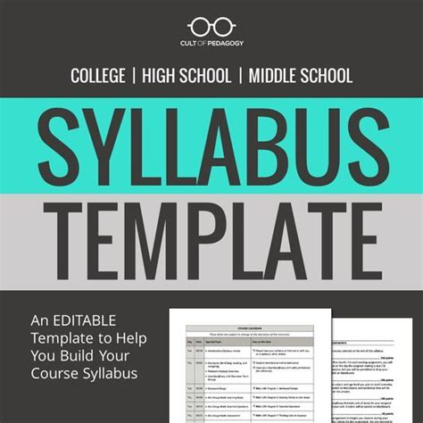 create a syllabus template best 25 syllabus template ideas on class
