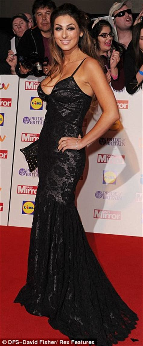 luisa zissman nearly falls out of her very low cut dress luisa zissman nearly falls out of her very low cut dress