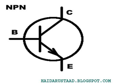 transistor npn simbol electronic transistor and transistor symbols 171 electrical and electronic free learning tutorials