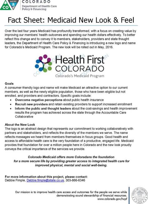 health fact sheet template health colorado fact sheet template pdf