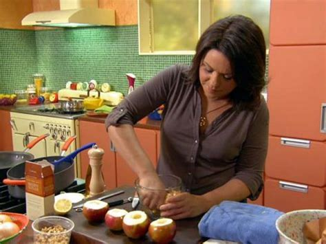 rachael ray show curling iron easiest ever baked stuffed apples recipe rachael ray