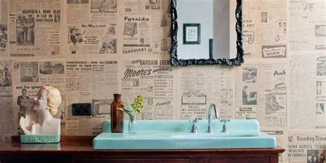 desain dinding kamar dengan koran bekas jangan buang koran bekas anda manfaatkan sebagai