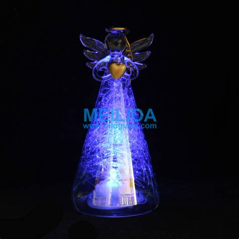 glass angels that light up wholesale light up glass angel ornament buy light up