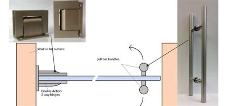 glass door detail hinges for glass doors and frameless glass doors