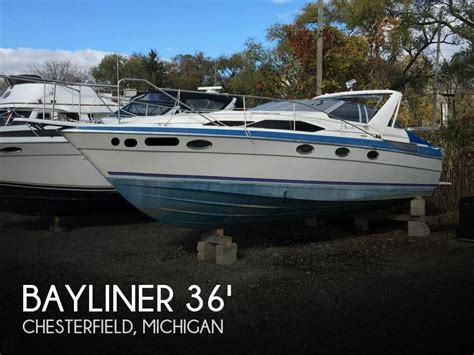 used bayliner boats for sale in michigan used boats for sale in chesterfield michigan boats