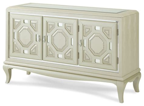 after eight console cabinet pearl croc modern storage
