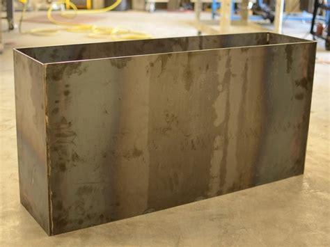 plate steel planter by sarabi studio tx modern