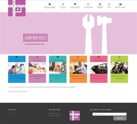 A Place Website Martock Our Place Website Design And Development