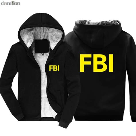 Snk Vest Hoodie Va Snk 01 new fbi academy quantico virginia hoodie cotton coat keep warm winter jacket sweatshirt