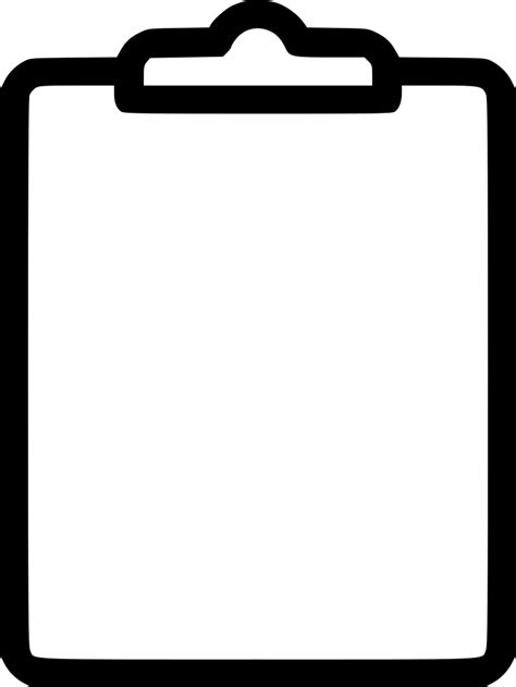 Clipboard Svg Png Icon Free Download (#528147
