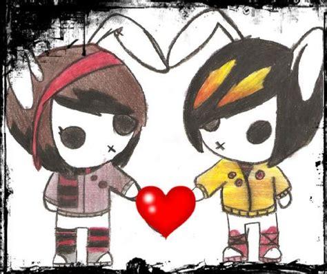 imagenes emo en caricatura ver imagenes de emos en dibujos animados bonitos