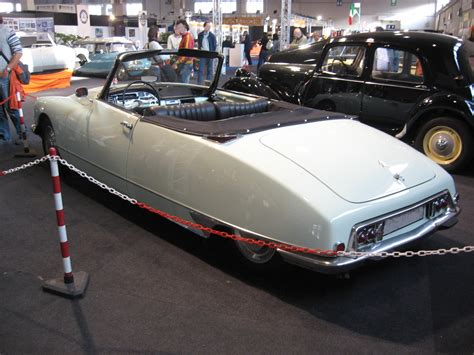 Citroen Ds Cabriolet by Plik Citro 235 N Ds Cabriolet Mk1 Rear View Jpg
