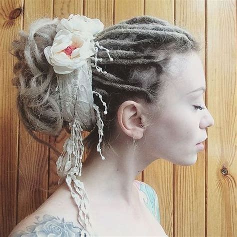 bridal hairstyles dreadlocks 30 creative dreadlock styles for girls and women