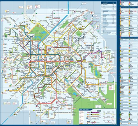 transport map brussels transport map
