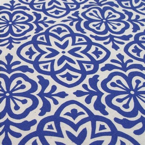 fabric pattern moroccan moroccan tile hand screen printed fabric fat quarter