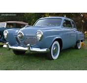 Note The Images Shown Are Representations Of 1951 Studebaker