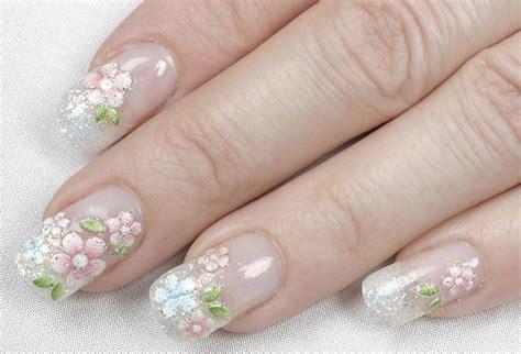 fiori unghie gel unghie sposa 2018 100 manicure gel e nail bellissime