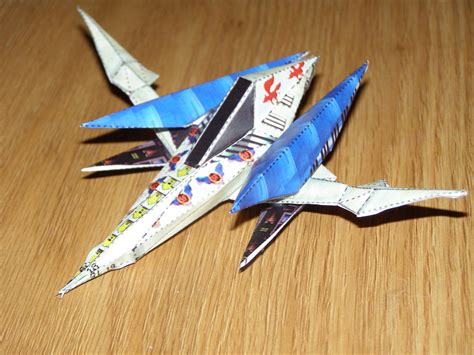 Arwing Papercraft - arwing papercraft by sunagirl on deviantart