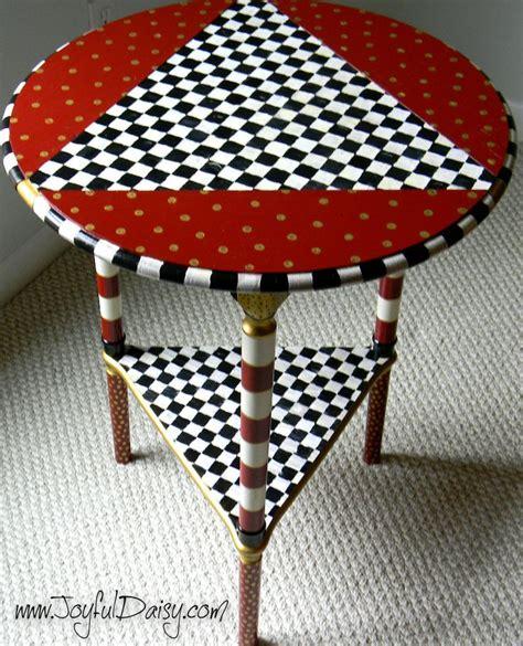 Mackenzie Childs Furniture by Mackenzie Childs Inspired Table Painting Tips Mackenzie