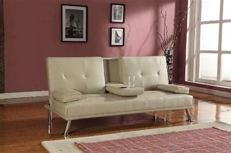cinema style sofa bed cinema style futon sofabed with drinks table sofa bed faux