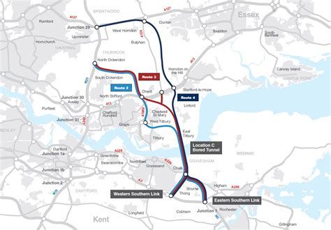 thames river crossing lower thames crossing consultation highways england