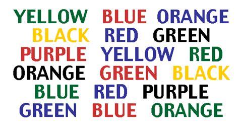 color word test optical illusion color test wonderfulinfo