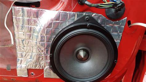 Alpine Door Speakers by Alpine Spr 60c 50 Door Speaker Install Corsa D