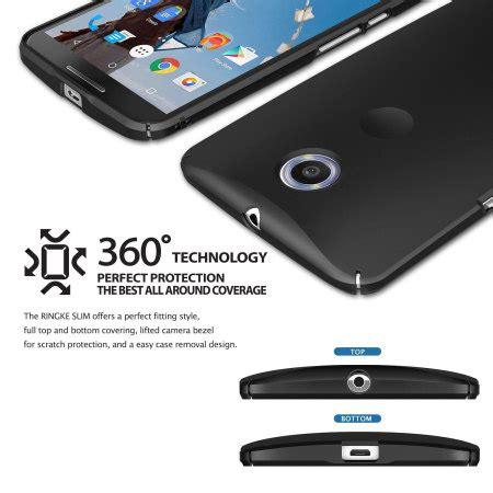 Limited Rearth Ringke Slim Motorola Nexus 6 Black Cle Limited rearth ringke slim nexus 6 black