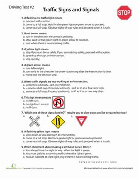 printable road code test 25 best ideas about practice driving test on pinterest
