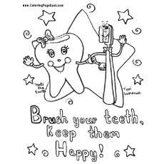 dental assisting coloring book top 10 free printabe dental coloring pages
