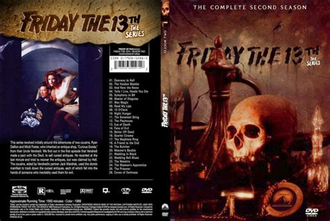Friday The 13th The 2dvd Friday The 13th The Series Season 2 Dvd Cover By