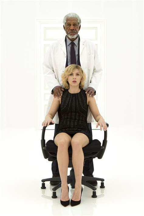 film lucy hot scarlett johansson and morgan freeman in a still from