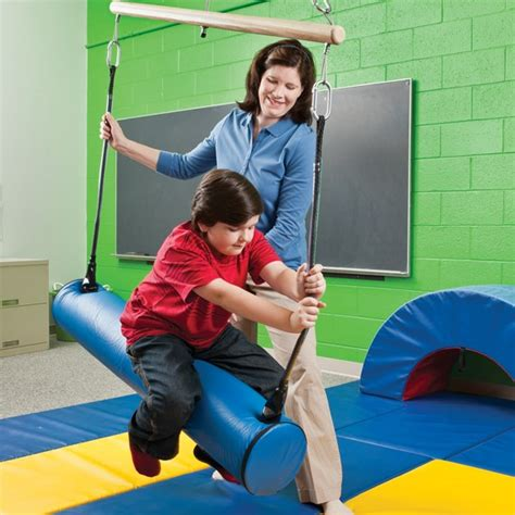 frog swing occupational therapy vestibular activities sensory integration southpaw