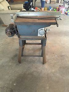 Belt Drive Table Saw by Vintage Craftsman 8 Quot Table Saw Belt Drive Model 115 7167