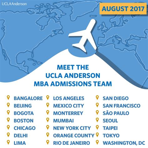 Ucla Mba Application Login by Meet Ucla Around The World August 2017 Events