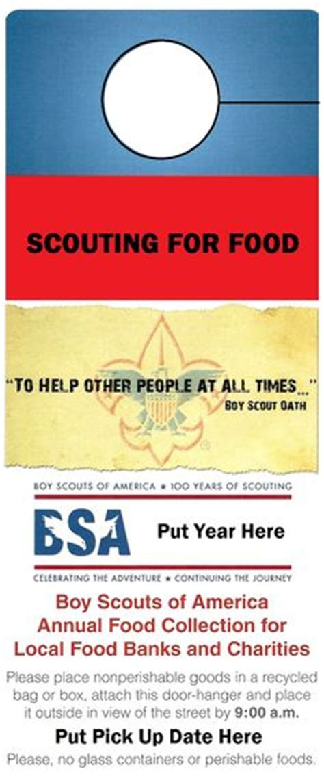Cub Scout Ideas On Pinterest Cub Scouts Boy Scouts And Scouting Scout Door Hanger Template