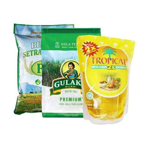 Beras Rojolele Fs Premium 5kg jual blibli paket sembako 1 fs beras 5 kg tropical