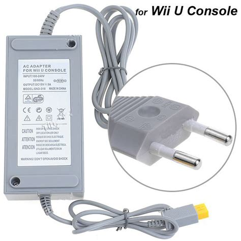 Jual Adaptor Wii 220v wii u americana 110v se puede enchufar a 220v en wii u general