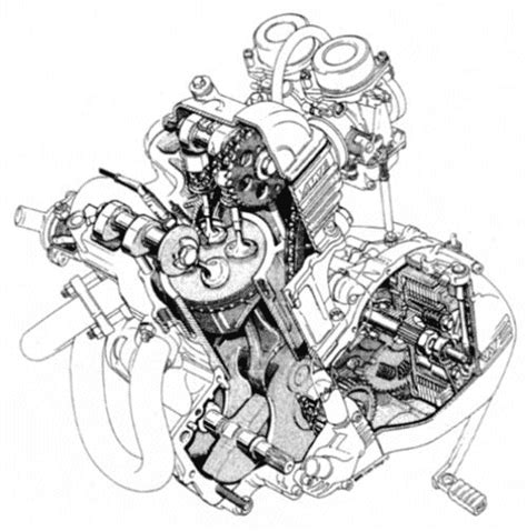 Bmw Motorrad Engine Oil by Bmw Motorcycle Engine Illustrations Cars Motorcycles